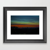 Amazing View  Framed Art Print