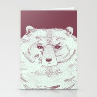 Grumpy Bear Stationery Cards
