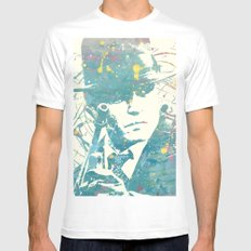 johnny deep public enemies White SMALL Mens Fitted Tee