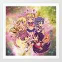 SAILOR POWAH! Art Print