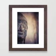 Buddha In Haw Phra Kaew,… Framed Art Print