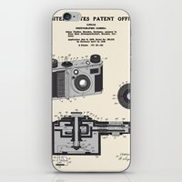 Camera Patent 1938 iPhone & iPod Skin