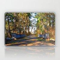 Tacoma park bridge Laptop & iPad Skin