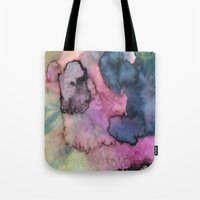 Ink Clouds Tote Bag