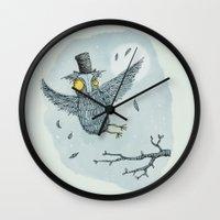 'Mr Owl' Wall Clock