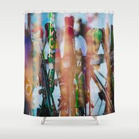 Ride Ride Ride Shower Curtain