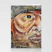 indian Stationery Cards featuring Indian by Lia Bernini