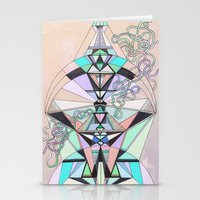 aztec Stationery Cards featuring Aztec by QUEQZZ