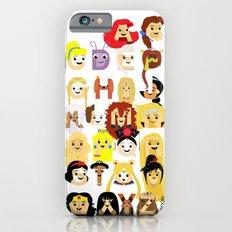 Princess Alphabet Slim Case iPhone 6s
