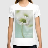 Happy Womens Fitted Tee White SMALL