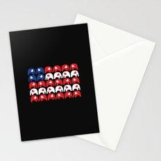 Stars and Stripes Elephants Stationery Cards