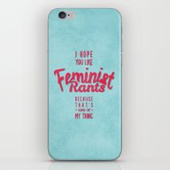 I Hope You Like Feminist… iPhone & iPod Skin