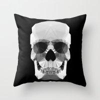 Polygon Heroes - Crystal… Throw Pillow