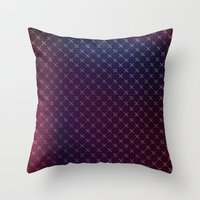 When The Night Falls Throw Pillow