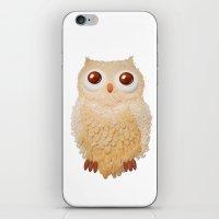 Owl Collage #5 iPhone & iPod Skin
