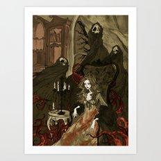 Nightmares Of The Alchem… Art Print