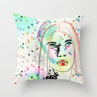 Sherona Dandy Throw Pillow