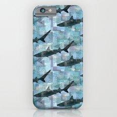 Sharks Repeat 1 iPhone 6 Slim Case
