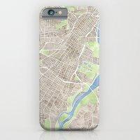 Richmond Virginia City Map iPhone 6 Slim Case