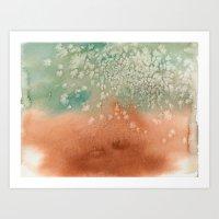 Tarnished Copper Art Print