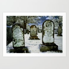 Left their Mark Long Ago Art Print