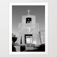 Santa Fe - San Miguel Mi… Art Print