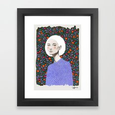 LISA Framed Art Print