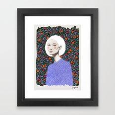 LISA Framed Art Print
