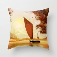 The Wherry Albion Throw Pillow
