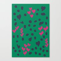Animal Love Canvas Print