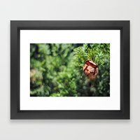 An Inner Fire Framed Art Print