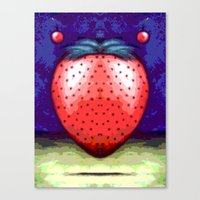 JAM BERRY BLUES Canvas Print