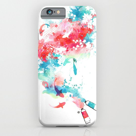 Koi - life in watercolor iPhone & iPod Case