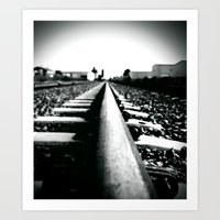 Art Print featuring Escape route by Vorona Photography