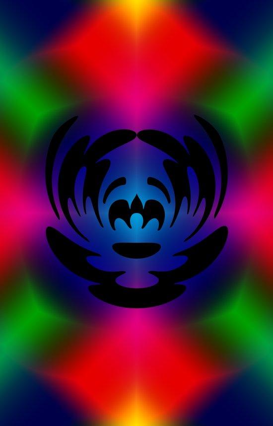 The Clown Color Art Print