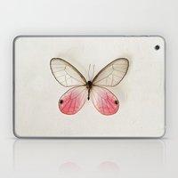 Pink Glasswing  Laptop & iPad Skin