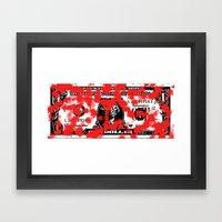 Blood Money Framed Art Print