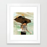CLOUDWALKER Framed Art Print