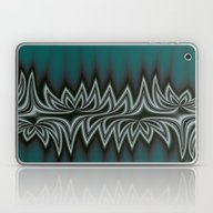 Fractal Tribal Art In Pa… Laptop & iPad Skin