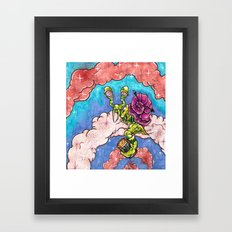 Time's Slow Framed Art Print