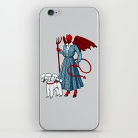 Devil With A Blue Dress … iPhone & iPod Skin