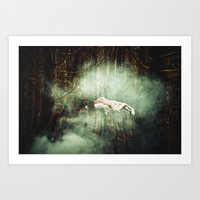 In Dreaming Art Print