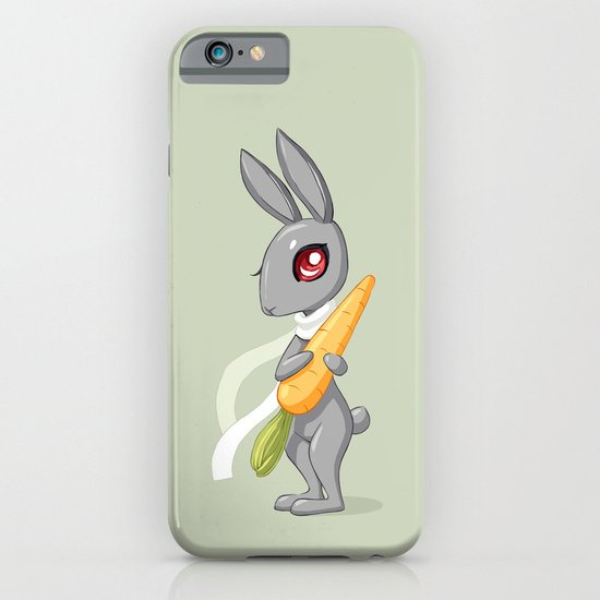 Bunny Carrot 3 iPhone & iPod Case