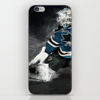 The Puck Stops here iPhone & iPod Skin