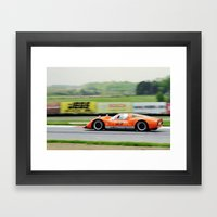 Zoom, Zoom Zoom  Framed Art Print