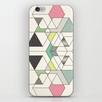 GEOMETRIC SPACE iPhone & iPod Skin