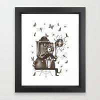 Photoshoot Framed Art Print