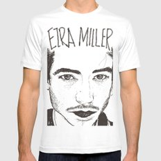 EMM Mens Fitted Tee White SMALL