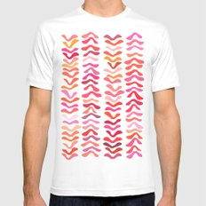Rhythm SMALL Mens Fitted Tee White