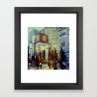 Tokyo Dreaming Polaroid Framed Art Print